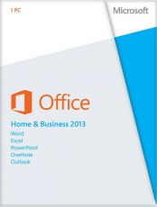 Офисная программа Microsoft Office Home and Business 2013 32-bit/x64 Russian DVD BOX (T5D-01763)