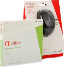 Офисная программа Microsoft Office Home and Student 2013 32/64 (79G-03740) + Wrlss Mobile Mouse 3500